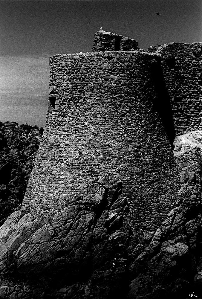 Le vieux chateau, ile d'Yeu - Le magnifique vieux château médiéval de l'ile d'Yeu.