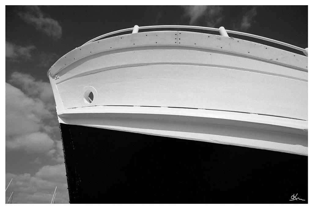 Etrave de bateau de pêche
